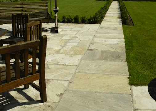 Sandstone Pavers Natural